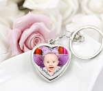 Keychain Photo Frame-Heart