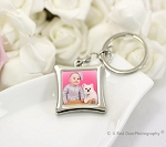 Keychain Photo Frame-Rhombus