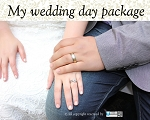 My wedding day package