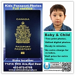 Baby & Child Passport photo