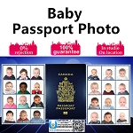 Infant/Baby Passport Photo