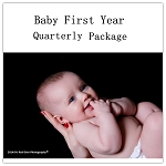 Baby First Year Photo-Quarterly Package