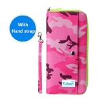 Passport Bag-camouflage pink