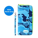 Passport Bag-camouflage blue